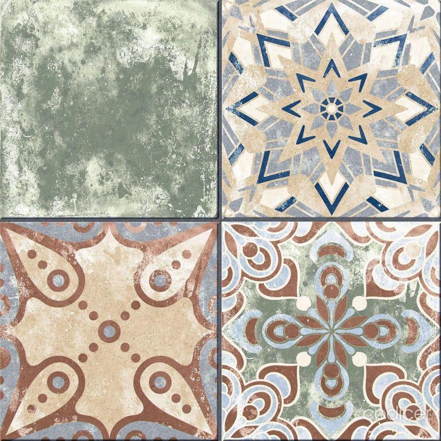 pattern bathroom tiles