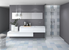 Mediterranea mix bathroom tile