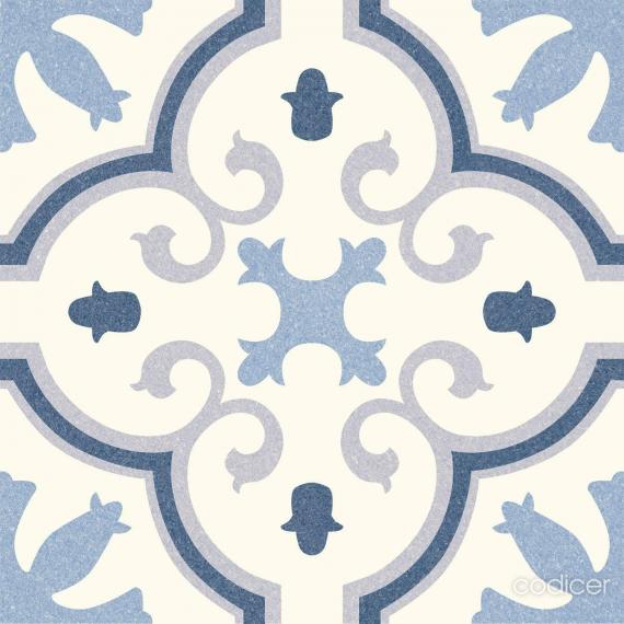 Riviera Montecarlo Blue Tile bathroom tiles