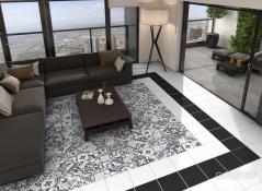 Borne Grey Tile bathroom tile