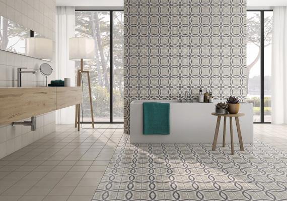 Pobles Sitges Iris Tile bathroom tiles