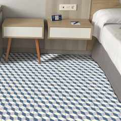 Riviera Cannes Blue Tile bathroom tiles