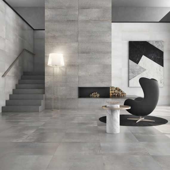 INDUSTRIAL Harvy Acero Wall Tile