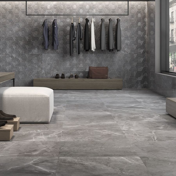 Akros Apolo Grafito Porcelain Tile