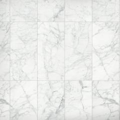 Carrara Bianco Polished Marble Wall and Floor Tile bathroom tiles