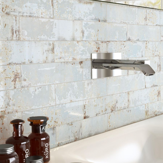 Handmade wall tile Dishevelled Oxide Wash wall tiles