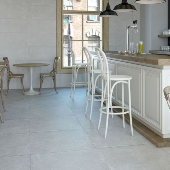 Grespania Boston Cemento Wall and Floor Tile