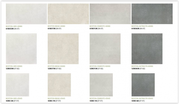 Boston tile collection Wall and Floor Tile