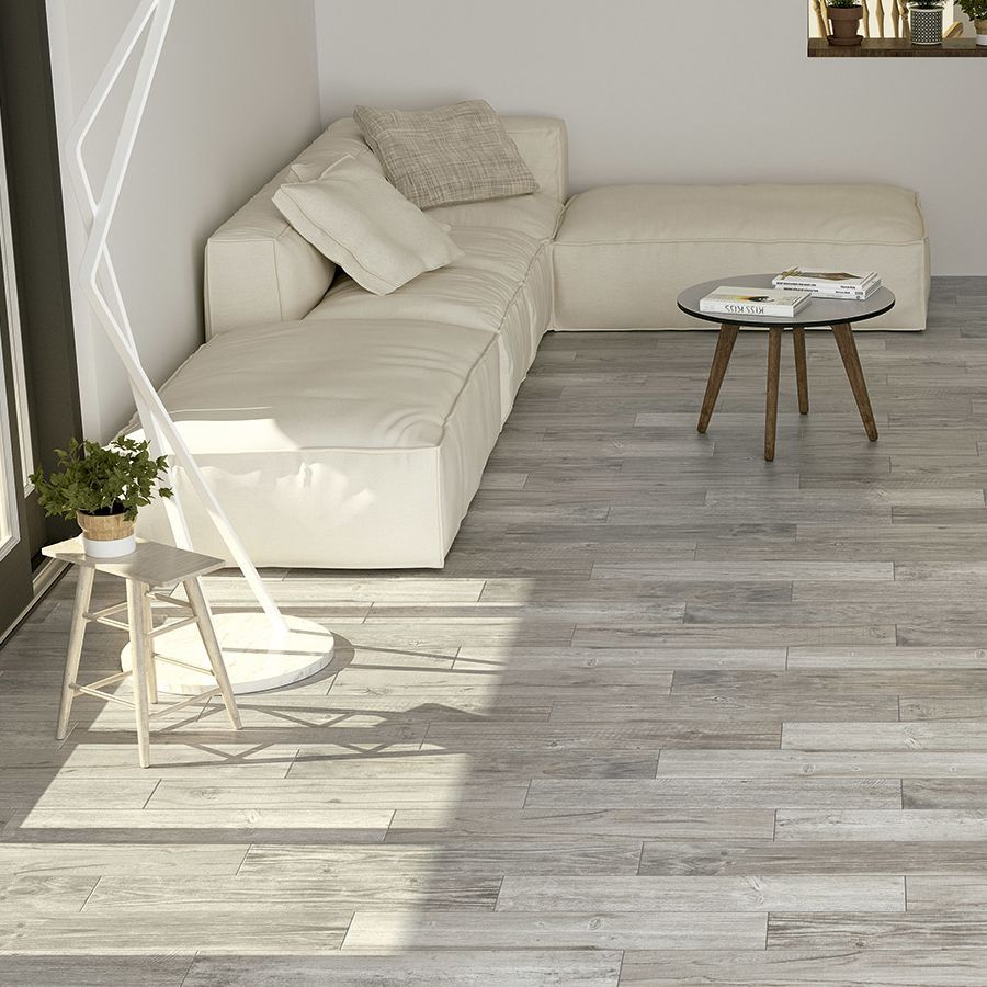 Forest Gris Wood Effect Tile