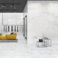 Grespania coverlam Carrara large tiles