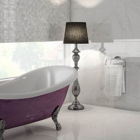 M.Corinto Blanco Wall Tile by Saloni Tiles