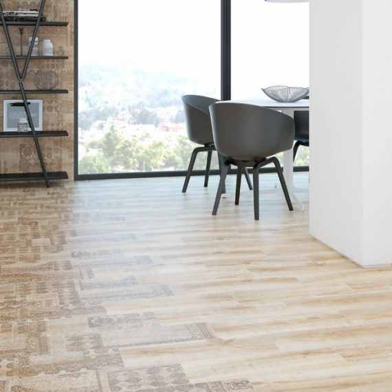 Hardwood Crema Wall and Floor Tile