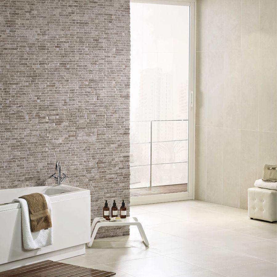 Intro Crema Base Wall Tile by Saloni Tiles