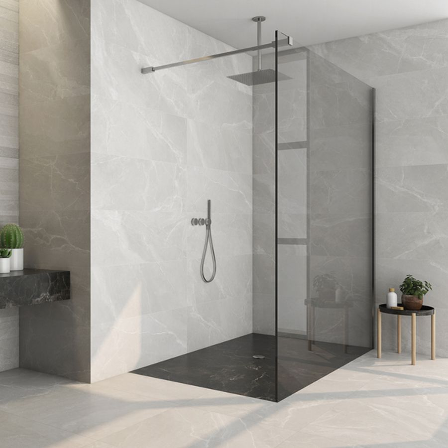 Byblos Ceniza Floor and Wall Tile by Saloni