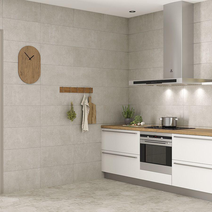 Brera Cemento Wall And Floor Base Tile by Grespania Tiles