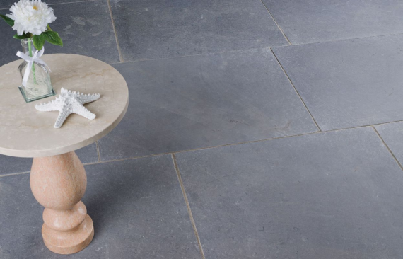Somerton Ash Tumbled Limestone Tile