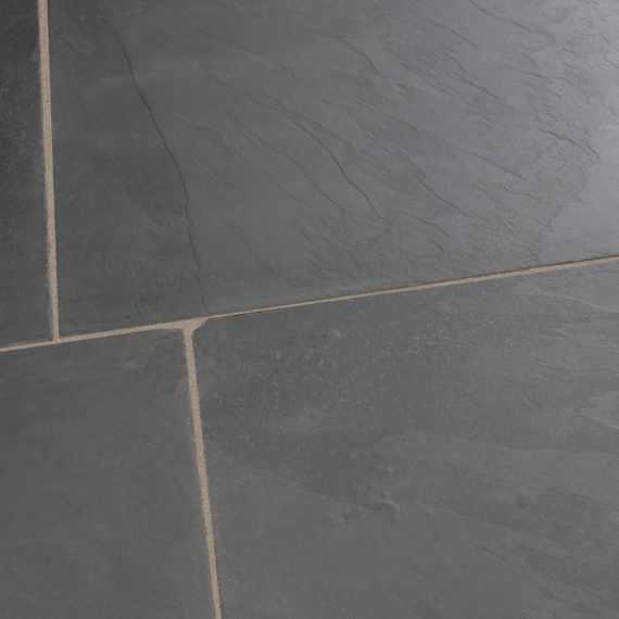 Turner Grey Tumbled Slate Tile