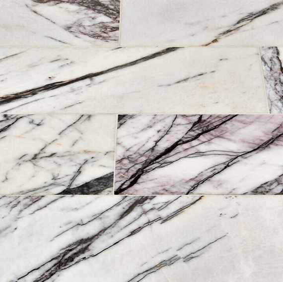 Violetta Polished Marble Tile