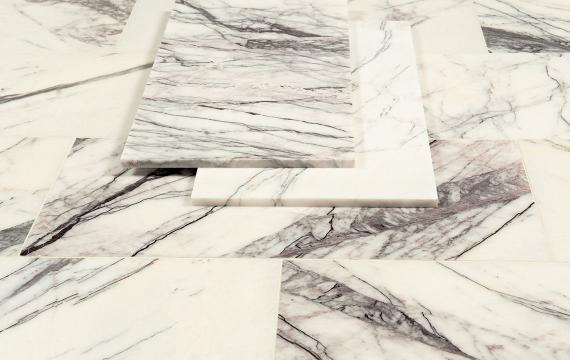 Violetta Polished Marble Tile