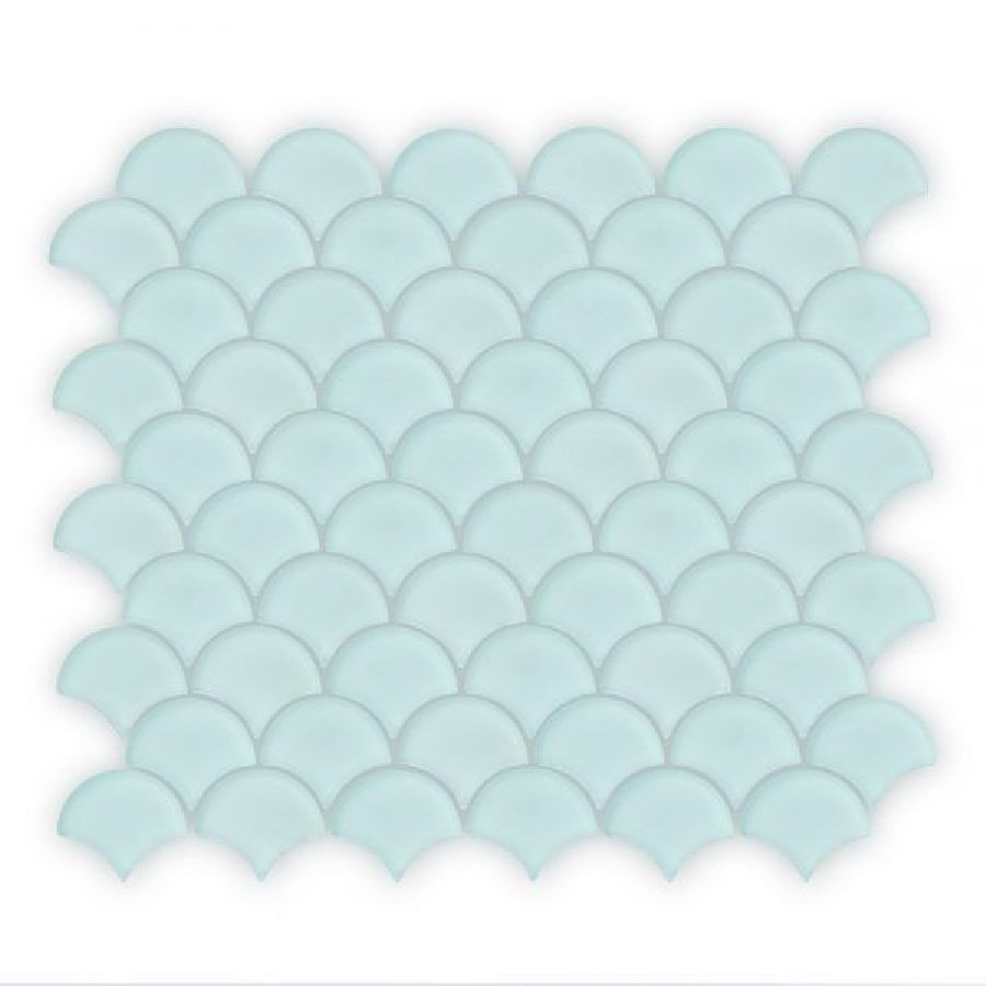 Auroras Fan - Green Mosaic Tile
