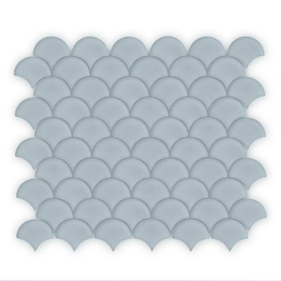 Auroras Fan - Grey Mosaic Tile