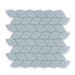 Auroras Leaf - Grey Mosaic Tile