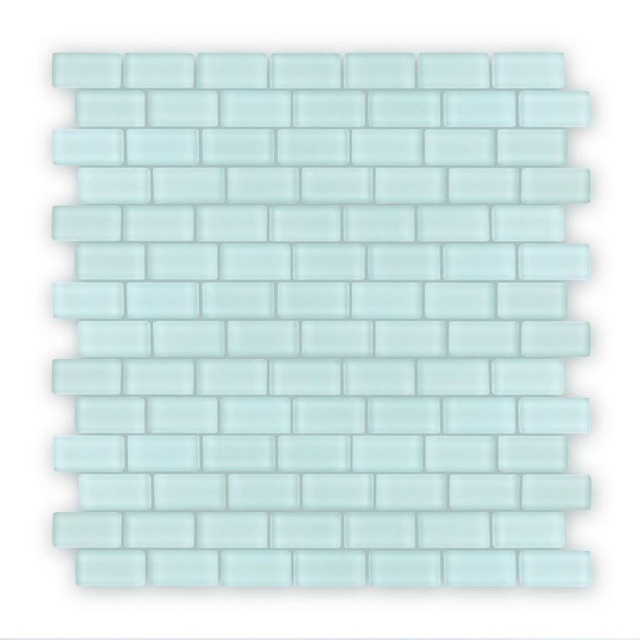 Auroras Mini Brick - Green Mosaic Tile