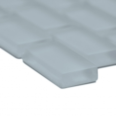 Auroras Mini Brick - Grey Mosaic Tile