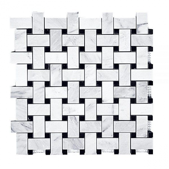 Hampton Basketweave Mosaic Tile