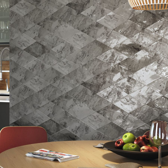 Savannah Diamond Cinder Wall Tile