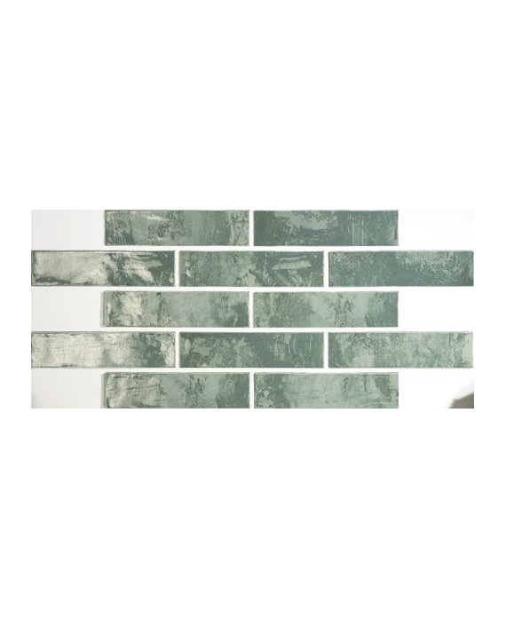 Savannah Brick Green Wall Tile