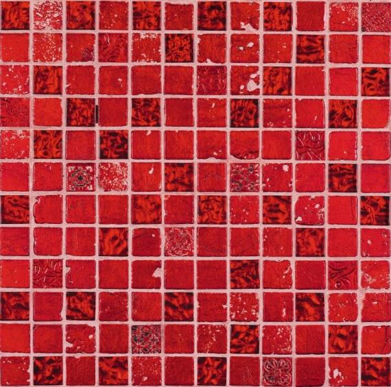 Musa Rojo Grespania Mosaic