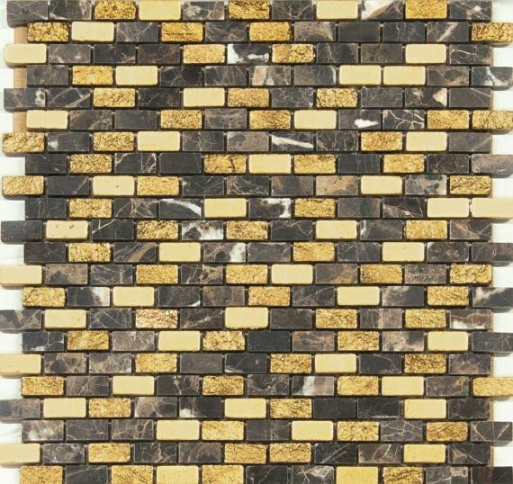 Musa Brick Emperador Grespania Mosaic
