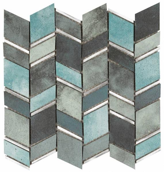 Musa Basalto Verde Grespania Mosaic