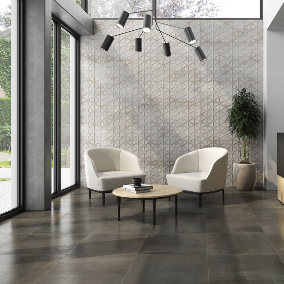 saloni INDUSTRIAL Roxy Acero Wall Tile