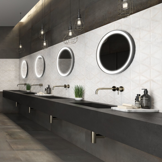 saloni INDUSTRIAL Roxy Perla Wall Tile