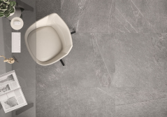 Ardesia Cenere Floor and Wall Tile by Saloni