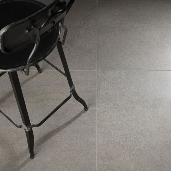 Rocko Anthracite Lappato Floor and Wall Tile