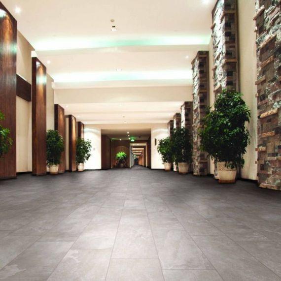 Loops Grey Floor and Wall Tile