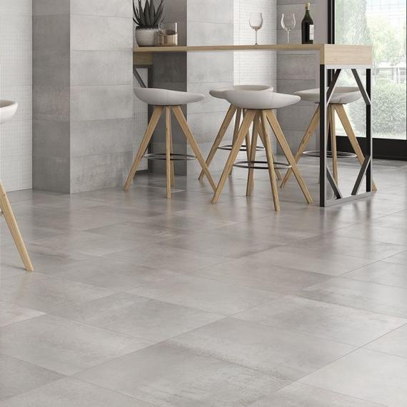 Saloni INDUSTRIAL Acero Floor Tile