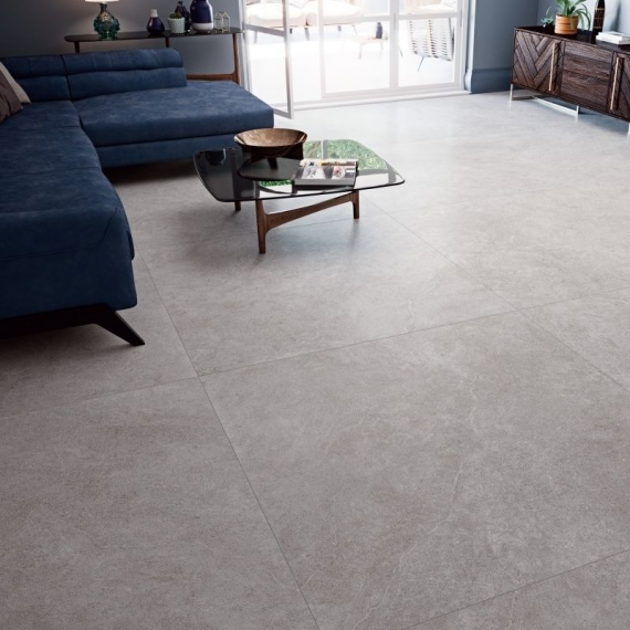 Arles Gris Collection Large Coverlam Tile