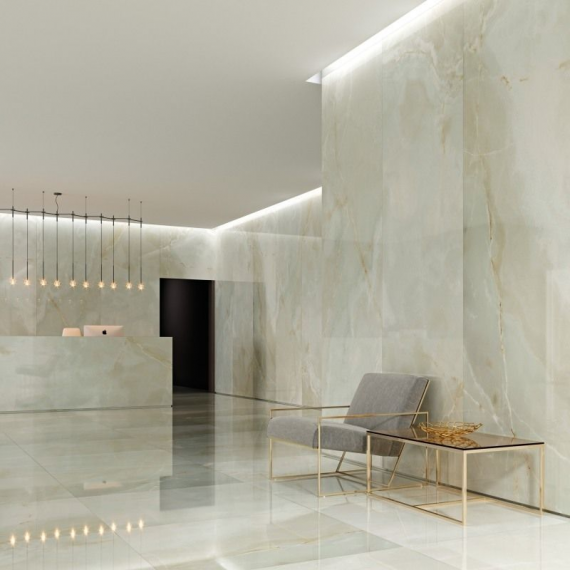 Onice Polished Large Coverlam Tile