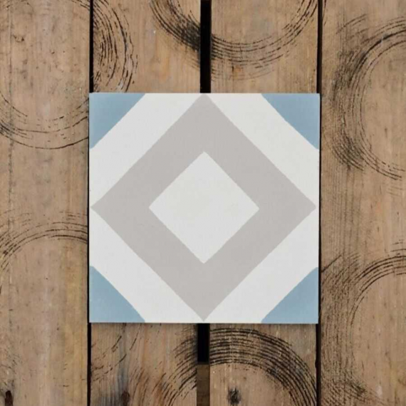 Quadri Cement Encaustic Tiles 20 x 20 cm
