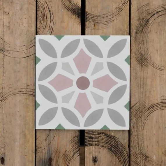 Vitral Cement Encaustic Tiles 20 x 20 cm