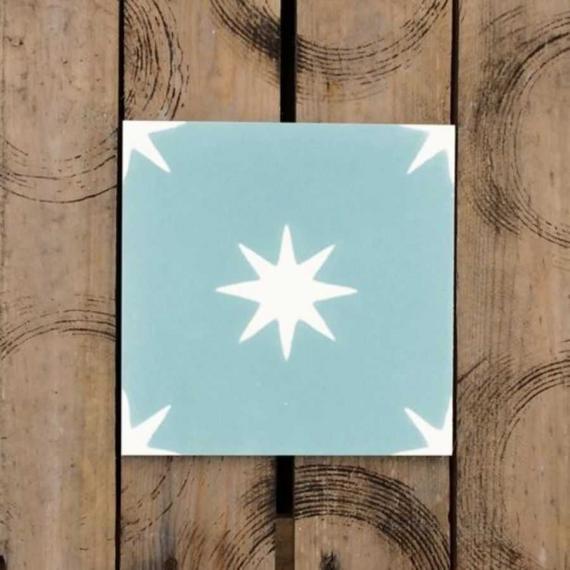 Otto Dia Cement Encaustic Tiles 20 x 20 cm