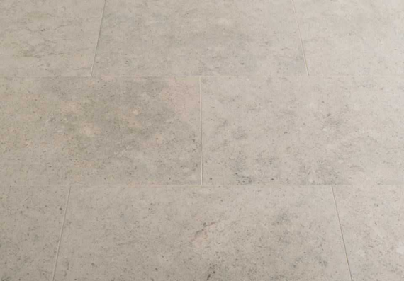 1st Grade Moleanos Blue Honed Limestone Tile
