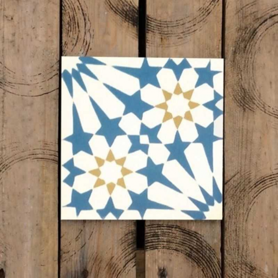 Stellata Cement Encaustic Tiles 20 x 20 cm