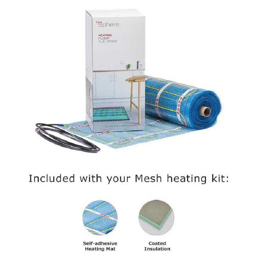 ThermoSphere 150 W/m² Self adhesive mesh