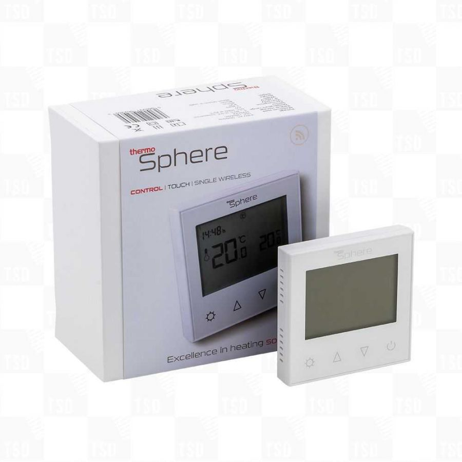 ThermoSphere White Programmable Control Thermostat