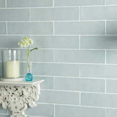 bathroom wall tiles and kitchen wall tiles in duck egg colour